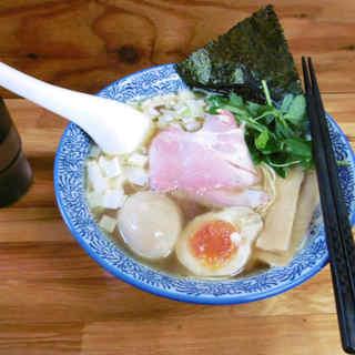 中華そば よしかわ - 料理写真:煮干しそば 白醤油@2016.8