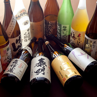 厳選日本酒・飲み放題あり!
