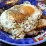 白楽天 - 料理写真:焼豚玉子飯~♬
