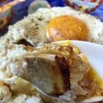 白楽天 - 料理写真:この目玉焼きにかかるコショウの絶妙な加減がGOOD✌