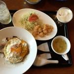白楽天 - 料理写真:嫁が食べてた「レディースセット」