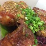 東桜チキンズ - 唐揚げ弁当油淋鶏3個