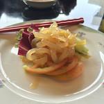 中国料理 龍鱗 - 料理写真:クラゲの冷菜580円