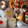 ウォルターピークファーム - 料理写真:コーヒーゼリー、季節のシャルロット、ミルクチョコレートトルテ、New Yorkチーズケーキ、白桃のミルフィーユ、和栗のモンブラン、杏仁豆腐、イチヂクワインゼリー
