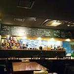 ワイン食堂 ホオバール - 店内…カウンターの向こうが厨房です!