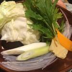 華味鳥 - 野菜 IN!