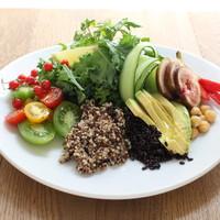 オーガニックマッシュグレーンと彩り野菜のパワーサラダ