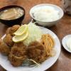 大金 - 料理写真:ヒレカツ定食 1050円