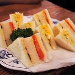 さぼうる - ミックスサンドイッチ