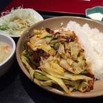永利 - 回鍋肉丼 ¥680