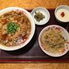 赤坂璃宮 - 料理写真:酸辣湯麺セット 1650円