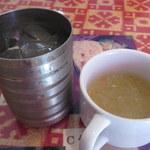 サムジャナ - お水とスープ