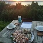413はまひが - 料理写真:夕食は、バーべキュー