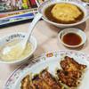 餃子の王将 - 料理写真:天津飯+餃子