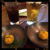 トラマ - 料理写真:生ビールとお通し