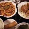 龍府 - 料理写真:麻婆豆腐と唐揚げのセット