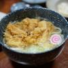 大衆割烹 藤八 - 料理写真:かき揚げうどん