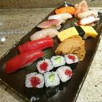 おつな寿司 - ランチのにぎり 大盛り♥ (o^ O^)シ彡☆