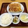 ぎょうざの満洲 - 料理写真:H28.08.24 ダブル餃子定食