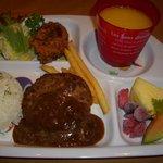 みなみグリル - 料理写真:お子様ハンバーグ¥525