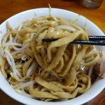 蓮爾 - ミニラーメン 650円 野菜・にんにく・脂