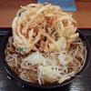 がんぎ - 料理写真:かき揚げそば(470円)