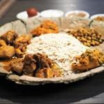 ネパール民族料理 アーガン - ネワリボジセット タパリ部分あっぷ