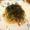 椿屋カフェ - 料理写真:スパゲッティセットの博多明太子・きのこ・のりです