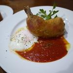ルイ・ドゥ・レトワール - 料理写真:鶏もも肉のコンフィ