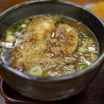 長寿庵 - 料理写真:麦の肉汁~☆