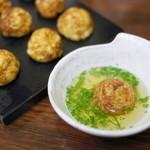 たこ磯 - 料理写真:ミックス焼(たこ・あなご)