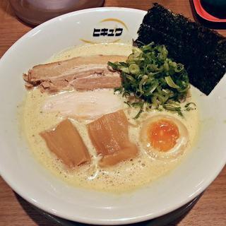 ヒキュウ - 料理写真:【鶏白湯らーめん 並】¥750