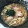 栃木家 - 料理写真:ノリたまごラーメン大盛り