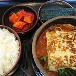 一平ちゃん - クッパ定食並+はるさめ・チーズ・豆腐♪