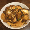 龍海閣 - 料理写真:魚と豆腐の黒豆ソース煮