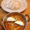 カマル - 料理写真:マトンマサラ、ライス
