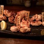 とさか - 「大山地鶏の盛り合わせ(小)」980円