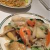 シルクロードガーデン - 料理写真:海鮮あんかけ焼きそばと蟹チャーハン