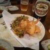 長寿庵 - 料理写真:天ぷら&クラシックラガー