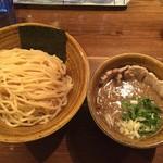 55248803 - ベジポタ肉増し煮干しつけ麺(1,000円)
