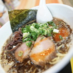 とんこつ麺屋 火の国 - 料理写真:こってり醤油黒