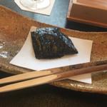日本料理 山崎 - 海苔
