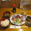 一里塚 - 料理写真:並刺身定食