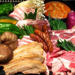 絶品焼肉や韓国料理が心ゆくまで楽しめる、食べ放題がお得です!