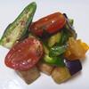 キレド ベジタブルアトリエ - 料理写真:水ナスと2種アイコとスイートハラペーニョのホーリーバジルマリネ
