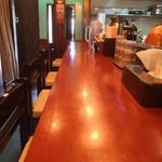 麺食堂 88 - カウンター席