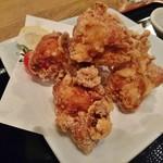 権八 - いわい鶏の唐揚げ定食