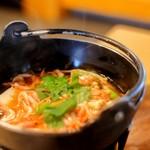 玉鉾 - 料理写真:沖あがり鍋