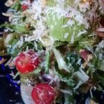 山岡ピザ - ツナとアボカドのサラダ