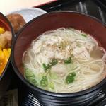 伊藤和四五郎商店 NEOPASA岡崎店 - とり蕎麦